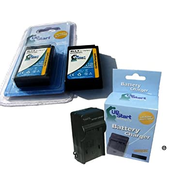 Amazon.com: Upstart Batería BLS-5 2 baterías + Kit de ...