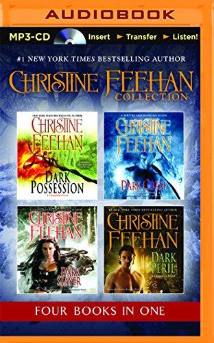 Christine Feehan 4-in-1 Collection: Dark Possession (#18), Dark Curse (#19), Dark Slayer (#20), Dark Peril (#21) (Dark Series)