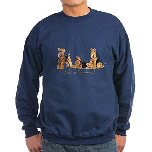 CafePress - Got Airedale Terriers? Sweatshirt (dark) - Classic Crew Neck Sweatshirt Navy