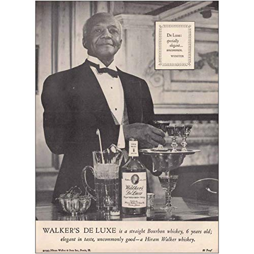 RelicPaper 1947 Hiram Walker Whiskey: Webster, Specially ()