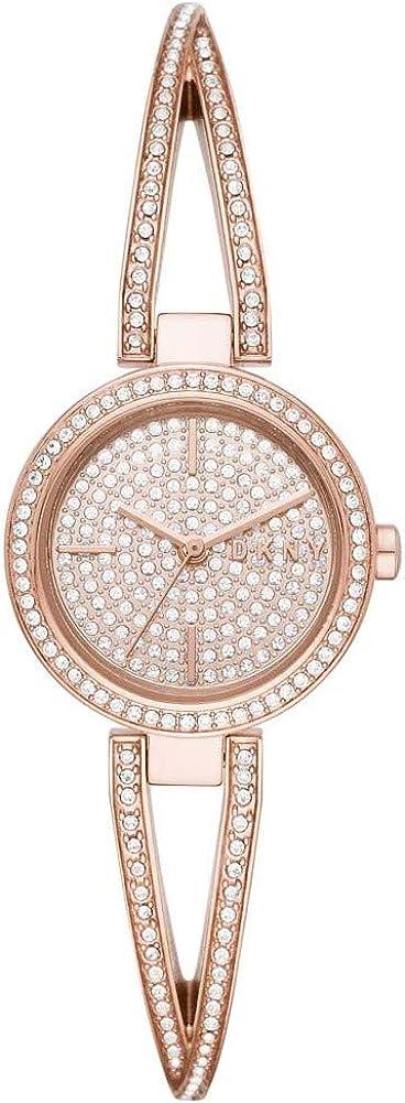 DKNY Crosswalk Rosegold Reloj de Cuarzo