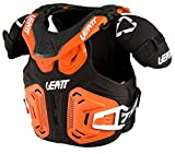Leatt Youth Fusion 2.0 Junior Vest-Orange-YL/YXL