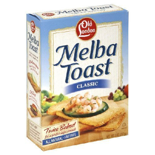 Old London Melba Toast Classic 5 oz (Pack of 3) - Melba Toast