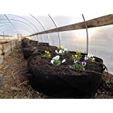 Large Grow Bag Raised Bed with Handles, 3 Pack, 100 Gallon by Bootstrap Farmer