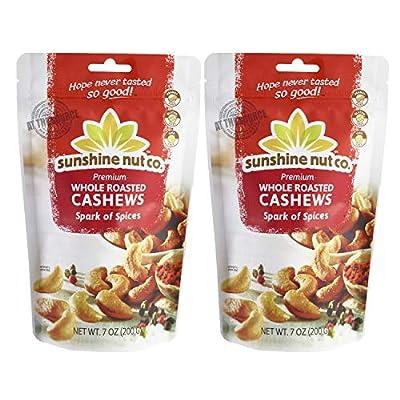 Sunshine Nut Company Cashews 7 oz