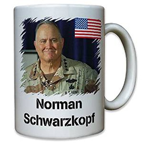 Norman Schwarzkopf Us Army General Commander Gulf War Iraq Operation Desert Storm Stormin America Military - Coffee Cup Mug