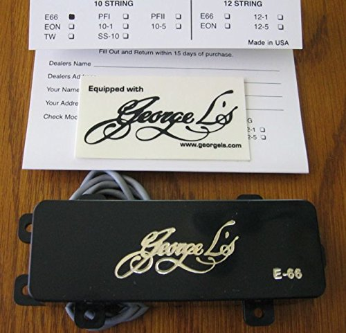 George L's E-66 Pedal and Lap Steel Guitar Pickup (Lap Steel Pickups)