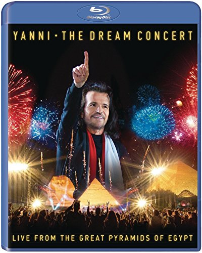 Blu-ray : Yanni - The Dream Concert: Live From The Great Pyramids Of Egypt (Blu-ray)