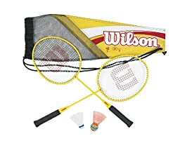 Wilson Kid\'s All Great Badminton Kit (2-Piece)