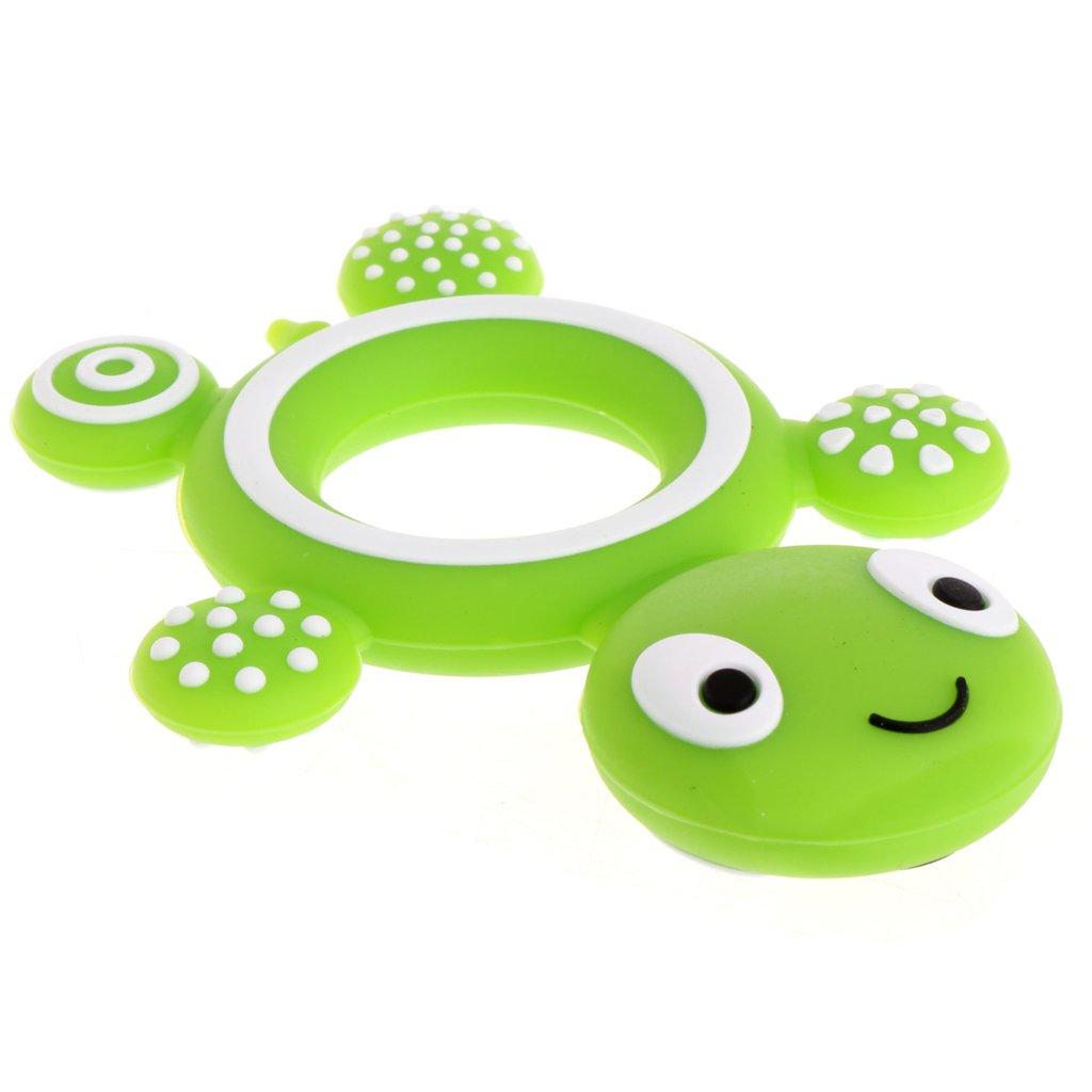 Chupete de seguridad para beb/és con forma de tortuga grado alimentario de silicona W A0127