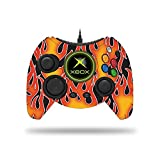MightySkins Skin for Microsoft Xbox One Hyperkin Duke Controller - Hot Flames Protective, Durable, and Unique Vinyl Decal wrap Cover | Easy to Apply, Remove, and Change Styles | Made in The USA