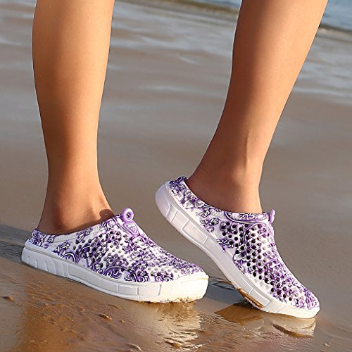 Beach PuepleC Clogs Mesh Quick Lightweight Slippers Feel Young Shoes Women Footwear Breathable Drying IWg7w