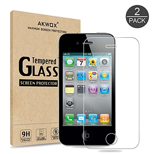 Tempered Glass Screen Protector for Apple iPhone 4 / 4s - 3
