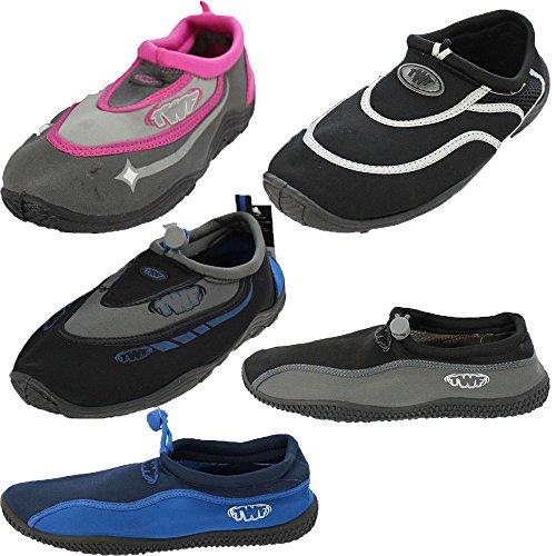 Grey Aqua Wetsuit Blue Rush Shoes Ladies Beach Black 8wwq0Izx