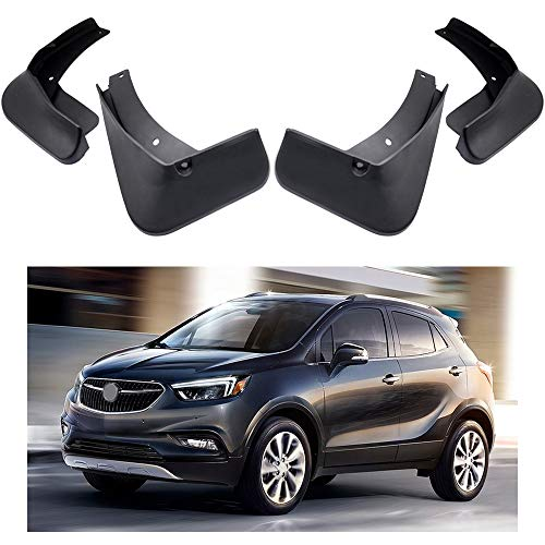 rd Fender Mud Flaps Splash Guard Kit for Buick Encore 2013-2018 14 15 16 17 ()