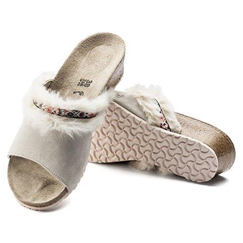 Papillio Damen Amber Pantoletten cozy-offwhite (1007283)