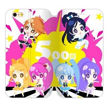 061fe0df08 プリキュア iphone6ケース手帳型 /iphone6 4.7インチ 大好きなアニメキャラクター プリキュア 可愛い 癒し