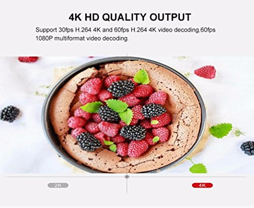 2018 Newest T96 PRO Android 6.0 TV Box 3G+32GB,Aritone Octa-Core 3D/4k/WiFi/HD Smart Media Player (Black) by T96 (Image #7)