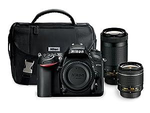 Nikon D7200 24.2 MP Dual Zoom Lens Kit with 3.2