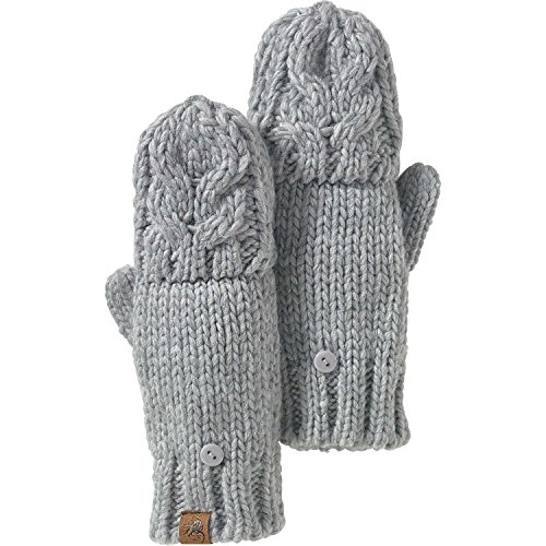 Legendary Whitetails Ladies North Woods Pop Top Mittens Athletic Heather