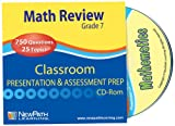 NewPath Learning Math Interactive Whiteboard CD-ROM, Site License, Grade 7
