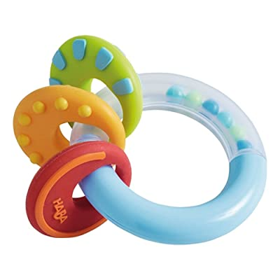 HABA Nobbi Silicone Teether and Clutching Toy : Baby