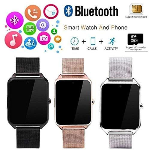 Amazon.com: FAIYIWO Watch Bluetooth Smartwatch Tracker Heart ...
