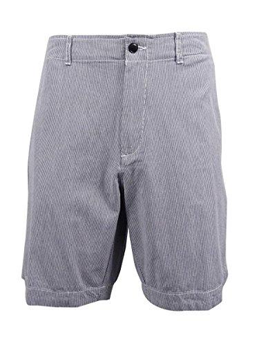Tommy Hilfiger Mens Seersucker Striped Casual Shorts Blue 40 (Seersucker Slacks)