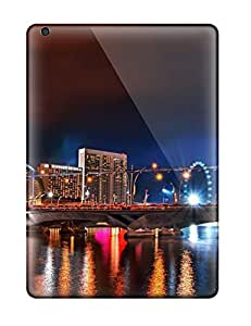 Slim Fit Tpu Protector Shock Absorbent Bumper Singapore City Case For Ipad Air by supermalls