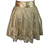 Heavenly Hostess Champagne Ivory Grace Apron-One Size
