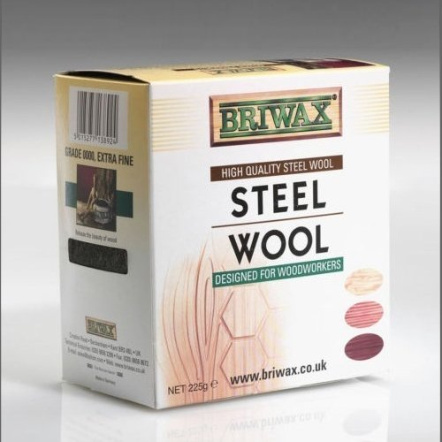 Outdoor Briwax Oil Free Steel Wool 0000, 225g Roll, Model: , Garden Store, Repair & Hardware by Outdoor Gear & Hardware