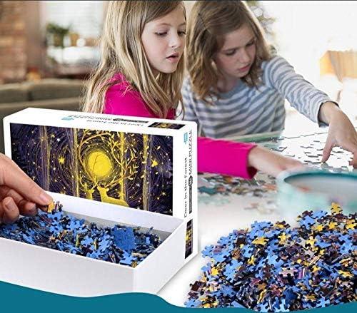 TOPJPG Abenteuer aride karge Küste Denksport-Puzzle aus Holz Erzieherisches Spielzeug für Kinder und Erwachsene. Erforsche Deine Kreativität und Deine Gabe, Probleme zu Lösen.