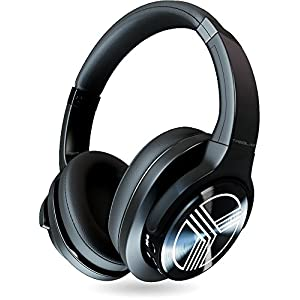 TREBLAB Z2 - Supreme Bluetooth Wireless Headphones - Active Noise Cancelling T-Quiet, Flawless aptX HD Sound, Neodymium 40mm Speakers, Cloud-Like Comfort Best For Airplane Travel, Office - Microphone