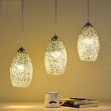 JJ LED modernos nuevas luces de techo 3 luces lámpara de ...