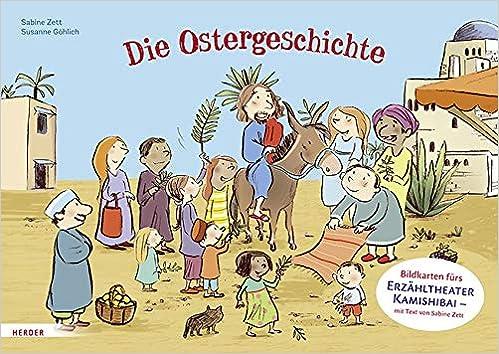 Die Ostergeschichte Bildkarten Furs Erzahltheater