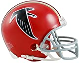 Sports Memorabilia Riddell Atlanta Falcons Throwback 1966-1969 VSR4 Mini Football Helmet - NFL Mini Helmets