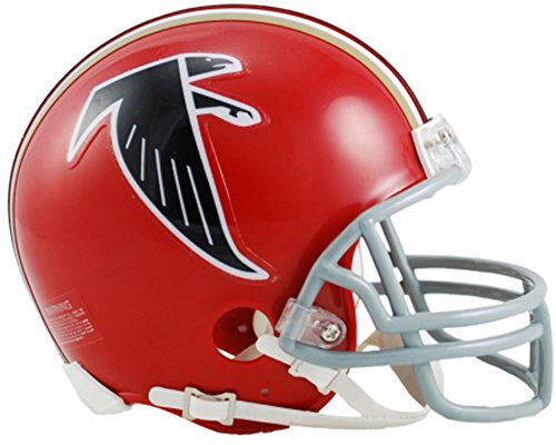 (Sports Memorabilia Riddell Atlanta Falcons Throwback 1966-1969 VSR4 Mini Football Helmet - NFL Mini Helmets)