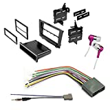 CAR CD Stereo Receiver Dash Install MOUNTING KIT + Wire Harness + Radio Antenna Adapter for Honda 2007-2011 CR-V