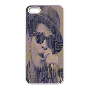 Bruno Mars Pattern Design Solid Rubber Customized Cover Case for iPhone 4 4s 4s-linda643