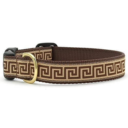 [Greek Key Dog Collar - Large] (World Country Themed Costumes)