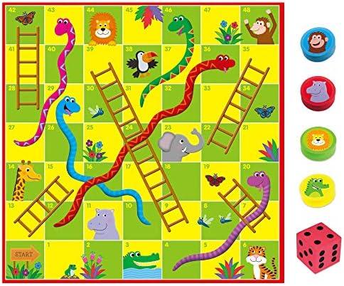 Galt America- Toys Puzle Gigante Serpientes y Escaleras (Galt 1005044): Amazon.es: Juguetes y juegos