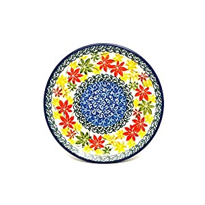 Polish Pottery Plate – Bread & Butter (6 1/4″) – Maple Harvest