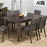 Jofran 728-72 Antique Gray Ash Butterfly Leaf Dining Table