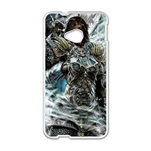 HTC One M7 Cell Phone Case White Darksiders 007 KI5033358