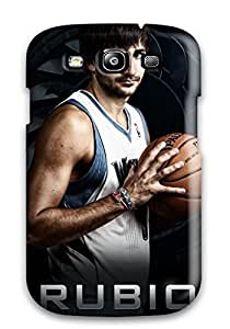 Best 4349625K544417777 minnesota timberwolves nba basketball (22) NBA Sports & Colleges colorful Samsung Galaxy S3 cases
