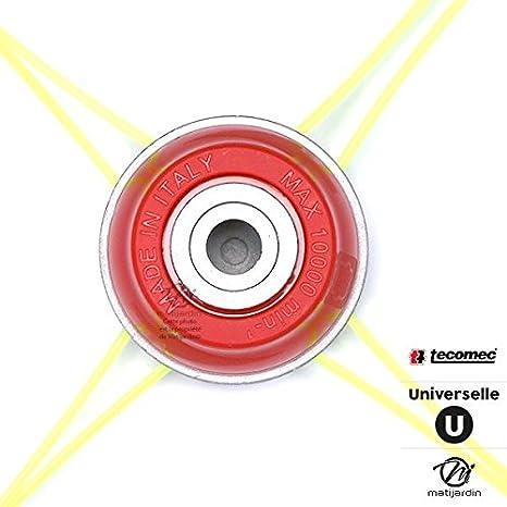 Cabeza Desbrozadora 8 Brins aluminio universal Tecomec: Amazon.es ...