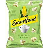 Smartfood Popcorn, Sour Cream & Onion, 7oz bag (Packaging May Vary)