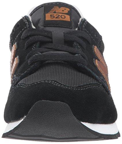 Nuovo Equilibrio Ladies Wl520 Scarpe Da Atletica Nero Marrone