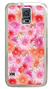Samsung Galaxy S5 Nature Flowers 5 PC Custom Samsung Galaxy S5 Case Cover Transparent Kimberly Kurzendoerfer