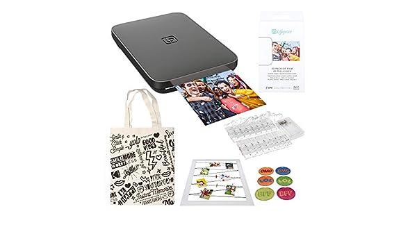 Lifeprint Impresora portátil de fotografía y Video 3x4.5. (Negro ...